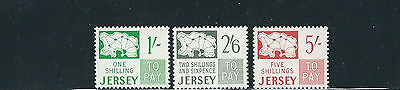 GB JERSEY 1969 SPECIAL DELIVERY (Sc J4-6 High Values) VF MNH