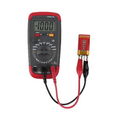 UA6013L Auto Range Digital LCD Capacitor Capacitance Test Tester Meter NEW #A