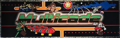 """Multicade Generic Marquee 26""""x8"""" (60 in 1) (19 in 1)"""