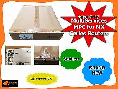Juniper MS-DPC MultiServices MPC for MX Series Routers BRAND NEW SEALED