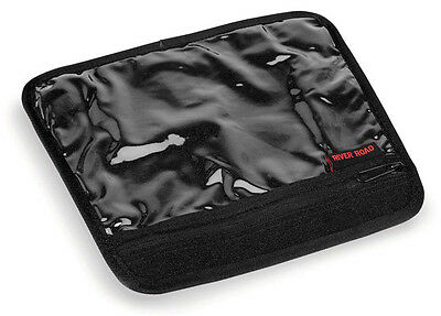 River Road Magnetic Motorcycle Map Pouch Black L/Large