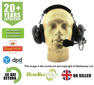 Kenwood Heavy Duty Noise Cancelling Headset For Protalk Pmr446 (Synetix)