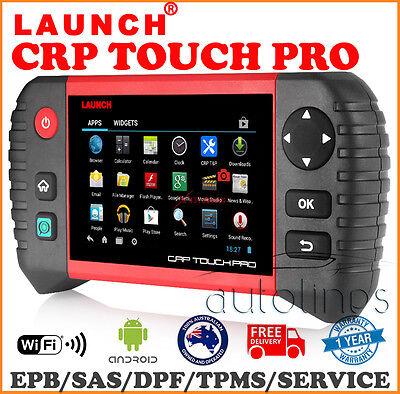 LAUNCH CREADER CRP TOUCH PRO OBD2 Fault Code Reader ResetDiagnostic Scan Tool