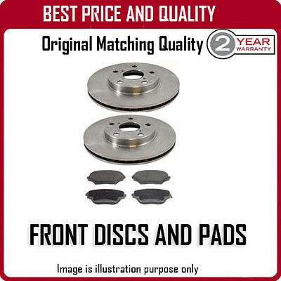 Front Brake Discs And Pads For Peugeot Ion Electric 1/2011-