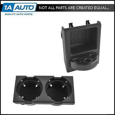 Center Console Mounted Coin Change Cup Holder Tray for BMW 3 Series E39 E60 E61