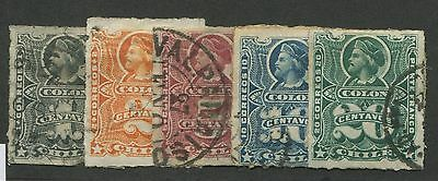 Chile #20-#24 Used Complete Set