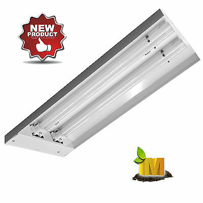 Hydroponics Propagation grow Light T5 6400k Fluro tubes Cloning Grow Bloom kit