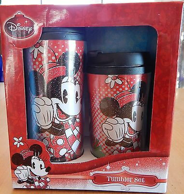 Disney Minnie Mouse Holiday Tumbler Set