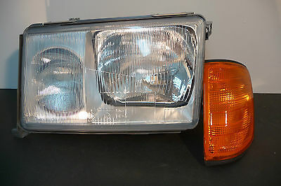 Mercedes 200 - 300 (W124 ) Phare + Clignotant Gauche Hella 1Ej004440-251 Neuf