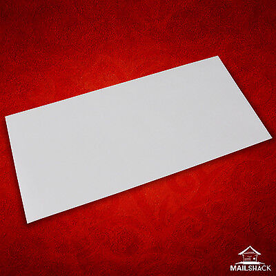 White DLXX Envelopes HIGH QUALITY 90gsm Gummed Plain | 10 20 50 100 250 500 etc