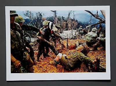 Larry Burrows Limited Edition Photo 17x24cm Südlich von der DMZ Vietnam 1966 War