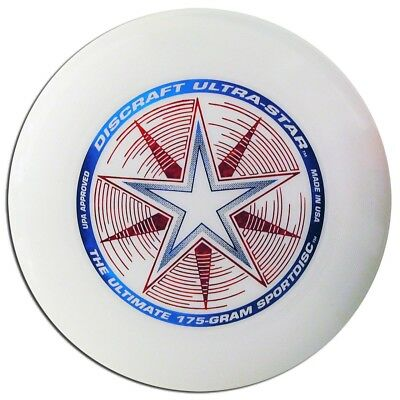 DISCRAFT ULTRA-STAR ULTIMATE DISC - WHITE COMPETITION STANDARD 175g REGULATION