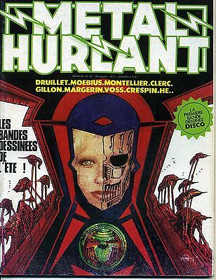 Metal Hurlant N° 32 Druillet Moebius Montellier Clerc Gillon Margerin Voss He..