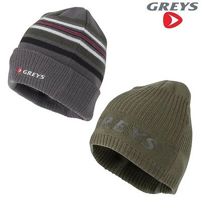 Greys Beanie Fly Fishing Carp Cap Hat Choose Colour