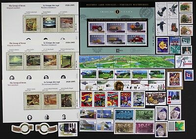 CANADA Postage Stamps, 1995 Complete Year set collection, Mint NH, See scans