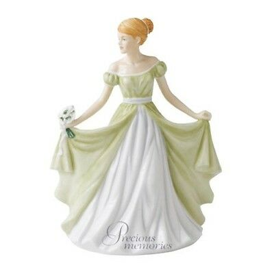 Royal Doulton Flower of the Month January Figurine DISCONTINUED