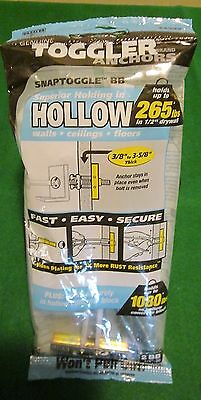 "Bag - (2) w/Screws TOGGLER® SNAPTOGGLE BB 1/2"" dia. Hollow Wall Anchor"