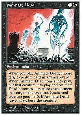 Animare i Morti - Animate Dead MTG MAGIC 5E 5th Edition Eng/Ita