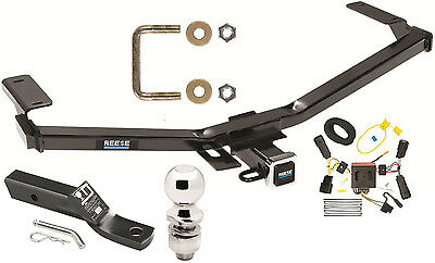 11 14 ford edge trailer hitch ~ complete tow package ~ wiring ballcomplete trailer hitch package w wiring kit fits 2011 2014 ford edge sport new