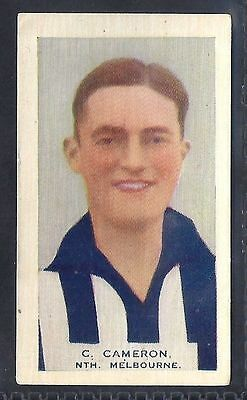 Hoadleys-Victorian Football Ers (Heads 1-50)-Aussie Rules-#010- North Melbourne