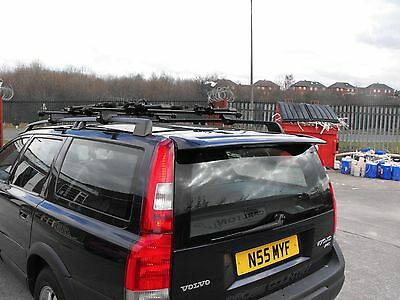 Volvo V70 Mk2 Rear Boot Tailgate Roof Spoiler/Trunk Wing 2001-2009 - Brand New!