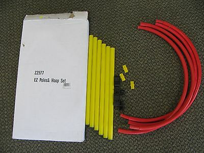 EZ Poles and Hoop Set Z2577 Tennis Shot Accuracy Trainer Free USA Shipping