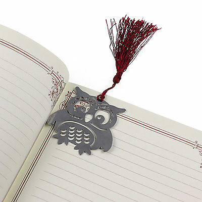 Creative Cute Eagle Owl Bookmark Note Funny Book Marker Memo Stationery Gift Hot