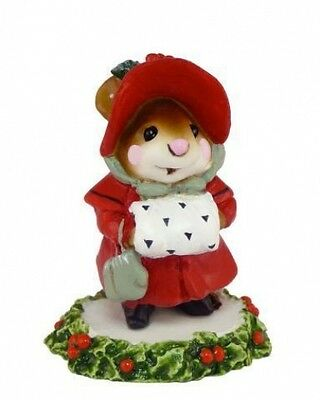 Wee Forest Folk M-146 Miss Noel - Red