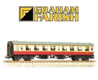 Graham Farish 374-010D BR Mk1 SO Second Open Crimson & Cream N Gauge