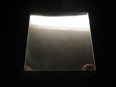 925 Solid STERLING SILVER Sheet Metal 34 Gauge 2x2 Inch 100% RECYCLED USA MADE