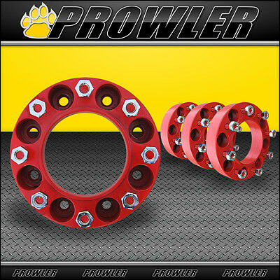 Skid Steer Wheel Spacers - 8 Lug, 2 Inch, 9/16th Inch Studs - Bobcat, Case
