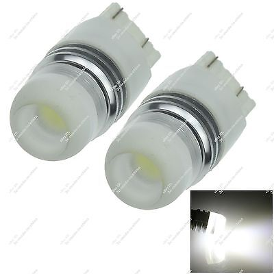 2X 7443 T20 W21/5W 1 COB LED Brake Light Tail Lamp Backup Bulb Car ZG023