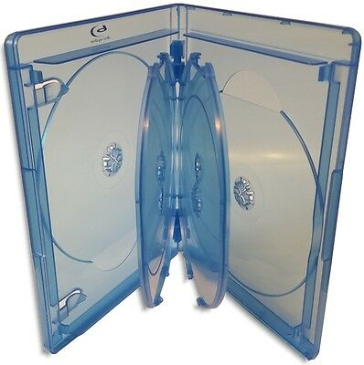 3-Pak VIVA ELITE 6-Disc 15mm Blu-ray Case w/ Blu-ray & Viva Elite Logos