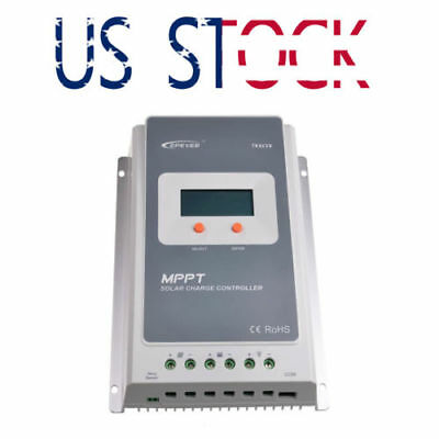 EPEVER Tracer 3210A 30A MPPT Solar Charge Controller 12/24V EPsolar Free Express