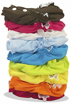 Lot of 12 Twelve Applecheeks Cloth Diaper Envelope Cover + 4 Bamboo Boosters
