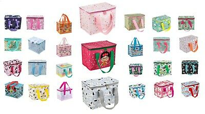 New Sass and Belle Insulated Recycled Lunch Bag Picnic Bag Boy Girl Children