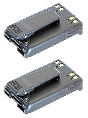 ICOM BP227 LI-ION BATTERY PACK FOR IC-F50 F51 F60 F61 F50V F51V F60V F61V  x 2