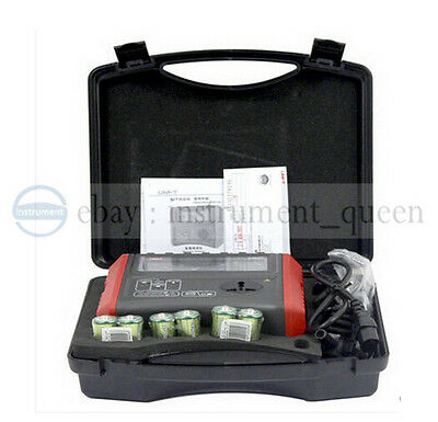 UNI-T UT528 EARTH INSULATION Resistance PAT TESTER METER Safety Specification OZ