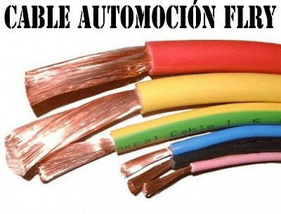 cable electrico -cable automocion-cable flry