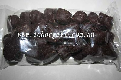 Dark Chocolate Ginger Pieces 500g Bulk Bag