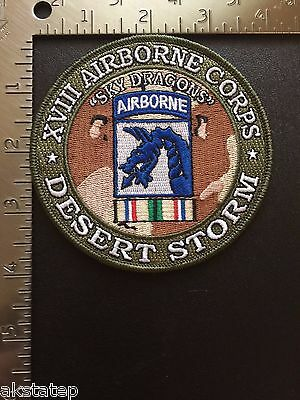 US ARMY 18th AIRBORNE CORPS DESERT STORM PATCH
