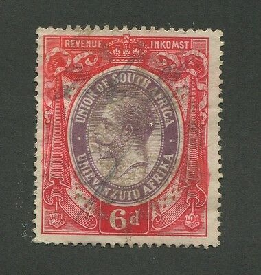 South Africa Used Revenue Stamp