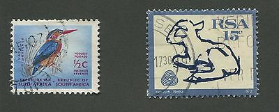 South Africa #374 & #382A Used