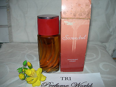 SCOUNDREL by Revlon Concentrated Cologne Splash * Dab-on 125 ml DISCONTINUED