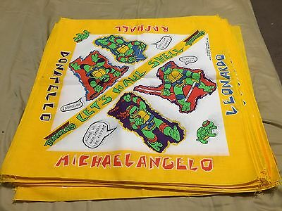 Teenage Mutant Ninja Turtles Vintage Bandana Mirage 1990