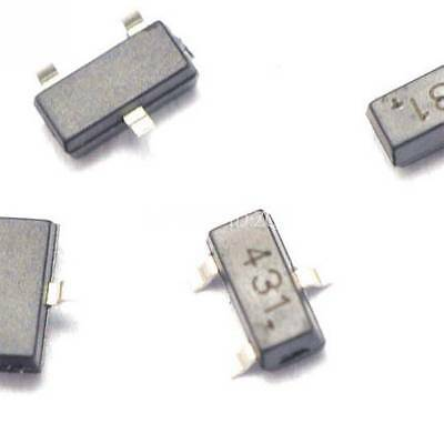 20PCS TL431 431 SOT23 Regulators Transistor SMD transistor