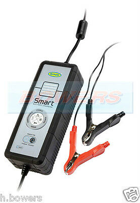Ring Rsc605 12V 5A Start/Stop Multi Stage Fully Automatic Battery Smart Charger