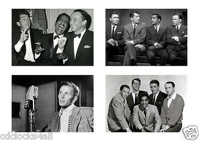 The Rat Pack / Frank Sinatra & Dean Martin 5 x 7 / 5x7 GLOSSY Photo Picture LOT