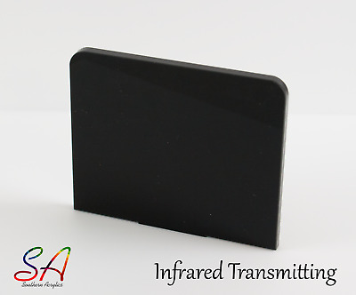 Infrared Transmitting Acrylic Sheets Perspex Black 962