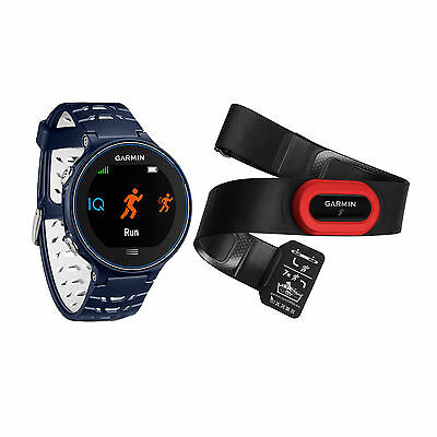 Garmin Forerunner 630 Touchscreen GPS Running Watch Midnight Blue Bundle